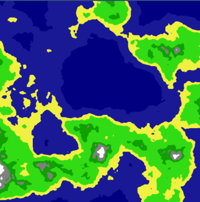 Procedurally Generating Wrapping World Maps in Unity C#